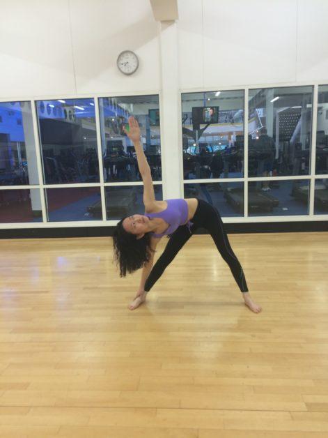 Yoga Pose – Triangle