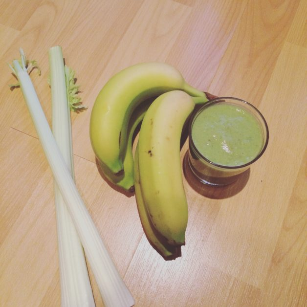 Celery Banana Milkshake