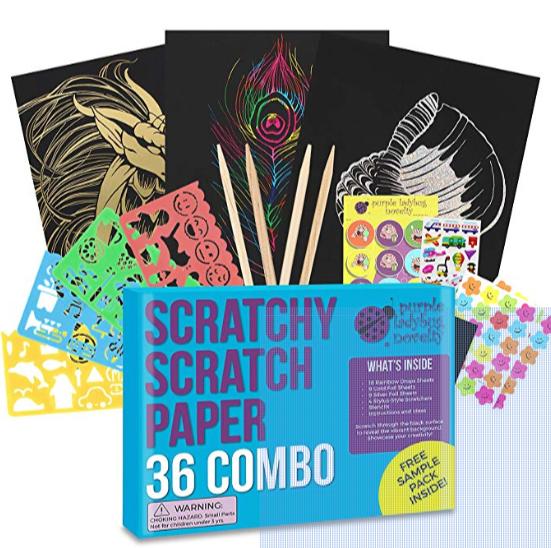 Scratchy toy set