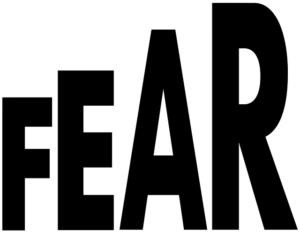 afraid, scared