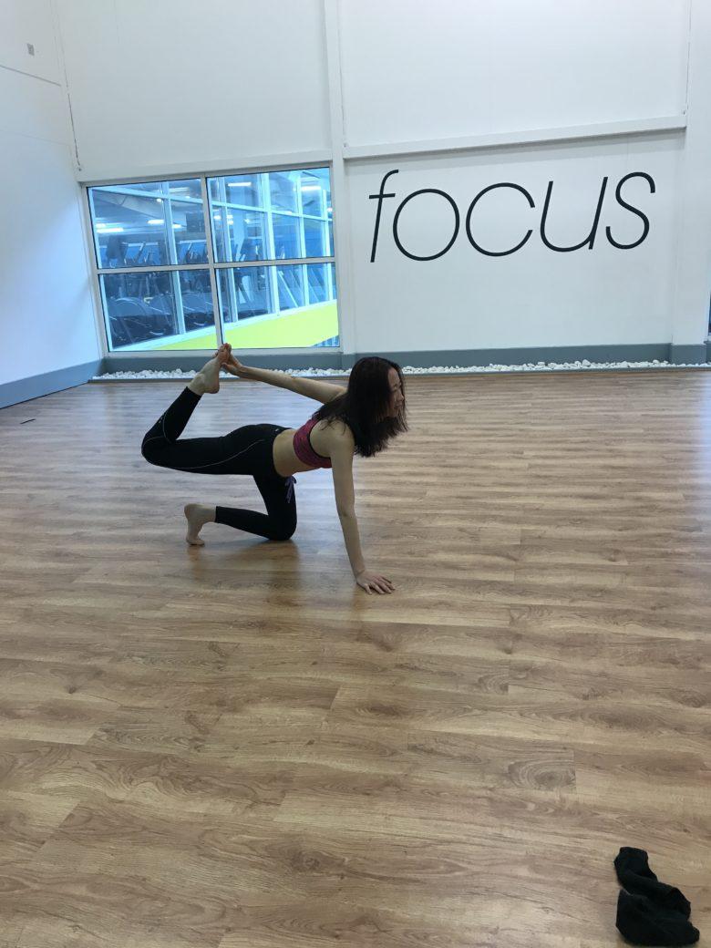 Yoga Pose – Tiger