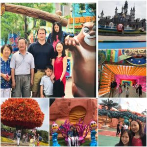 China holiday, Liaoning tour