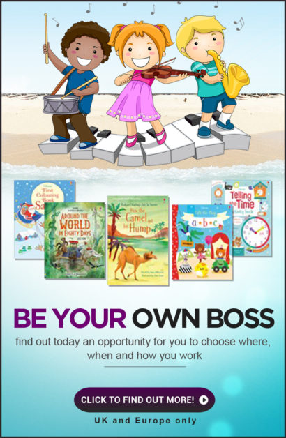 Usborne Books at Home – Be Your Own Boss