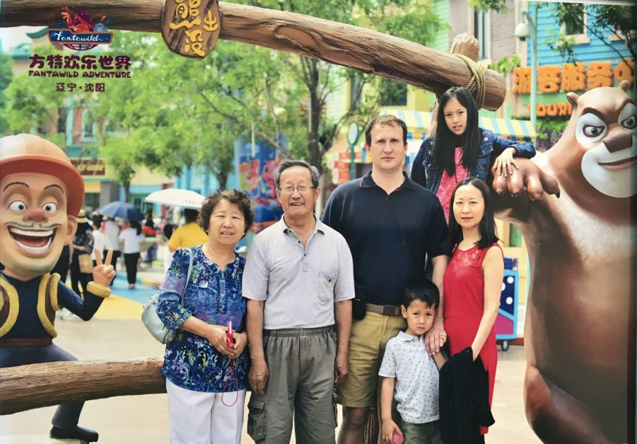 My family picture in Shenyang