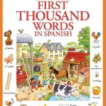 Frist Thousands Words in Spanish book