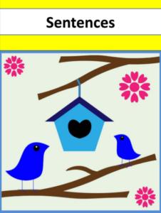 Sentences for under 5s